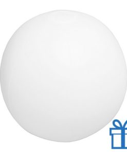 Strandbal goedkoop wit transparant bedrukken