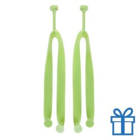 Strandslippers straps op maat 36-38 groen bedrukken
