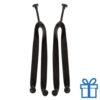 Strandslippers straps op maat 42-44 zwart bedrukken