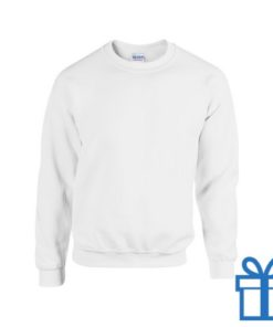Sweater poly katoen XL wit bedrukken