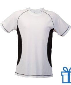 T-shirt unisex sport budget M zwart bedrukken