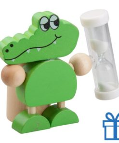 Tandenborstelhouder krokodil bedrukken