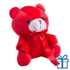 Teddybeertje rood bedrukken