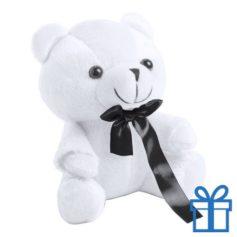 Teddybeertje wit bedrukken