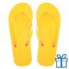 Teenslippers goedkoop unisex geel 42-44 bedrukken