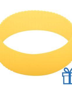 Thermo mok op maat grip geel bedrukken