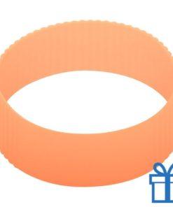 Thermo mok op maat grip oranje bedrukken