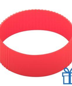 Thermo mok op maat grip rood bedrukken