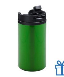 Thermomok RVS 280ml groen bedrukken