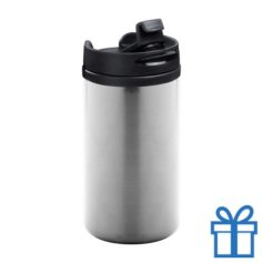 Thermomok RVS 280ml zilver bedrukken