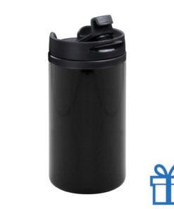 Thermomok RVS 280ml zwart bedrukken