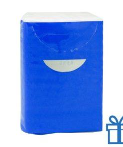 Tissues 3 laags blauw bedrukken