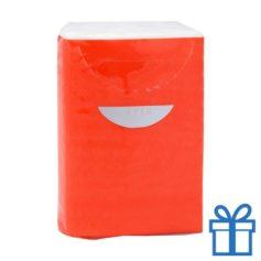 Tissues 3 laags rood bedrukken