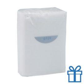 Tissues 3 laags wit bedrukken