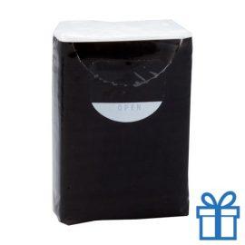 Tissues 3 laags zwart bedrukken