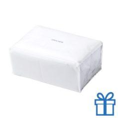 Tissues pack kleur wit bedrukken