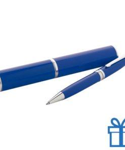 Touch ballpoint pen blauw