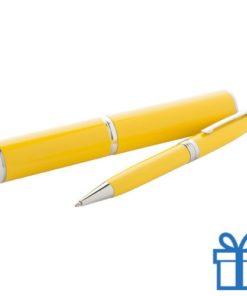 Touch ballpoint pen geel