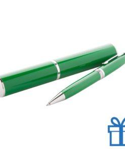 Touch ballpoint pen groen