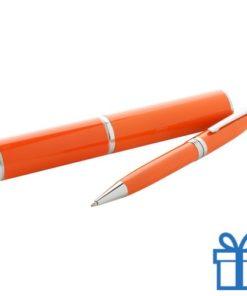 Touch ballpoint pen oranje