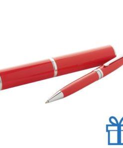 Touch ballpoint pen rood
