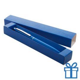 Touch balpen met giftbox blauw bedrukken