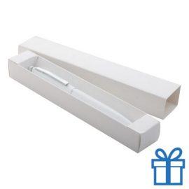 Touch balpen met giftbox wit bedrukken