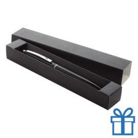 Touch balpen met giftbox zwart bedrukken