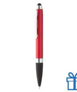 Touch stylus balpen rood bedrukken