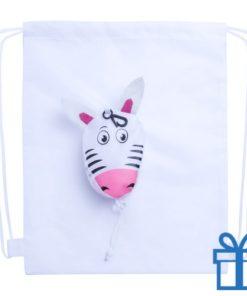 Trektouwtas kids zebra bedrukken