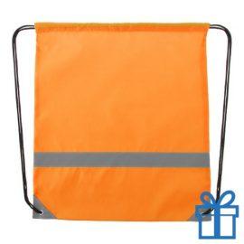 Veiligheids trektouw tas oranje bedrukken