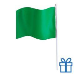 Vlaggetje bedrukken groen bedrukken