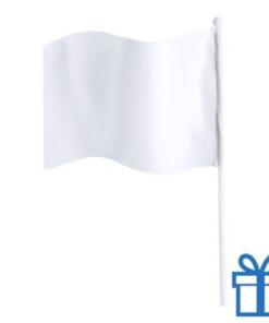 Vlaggetje bedrukken wit bedrukken