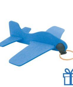 Vliegtuigje EVA blauw bedrukken