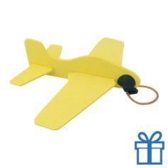 Vliegtuigje EVA geel bedrukken