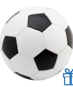 Voetbal leer wit bedrukken