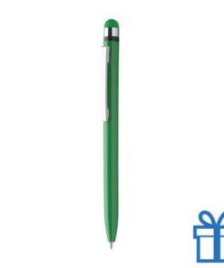 Voordelige touchscreenbalpen groen bedrukken