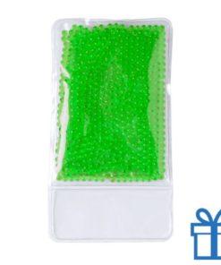 Warm koud kompres groen bedrukken