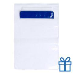 Waterdichte tablethoes blauw bedrukken