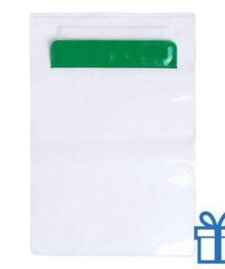 Waterdichte tablethoes groen bedrukken