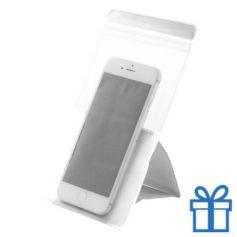 Waterdichte telefoonhoes bescherming wit bedrukken