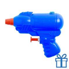 Waterpistooltje blauw bedrukken