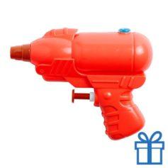 Waterpistooltje rood bedrukken