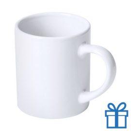 Witte mok cadeauverpakking wit bedrukken
