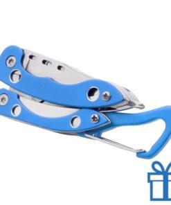 Zakmes RVS blauw bedrukken