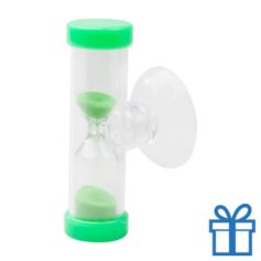 Zandloper 3 minuten groen bedrukken