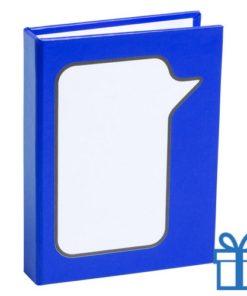 Zelfklevende notitieblaadjes blauw