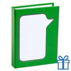 Zelfklevende notitieblaadjes groen