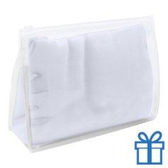Zomerse sjaal giftbag wit bedrukken