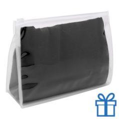 Zomerse sjaal giftbag zwart bedrukken